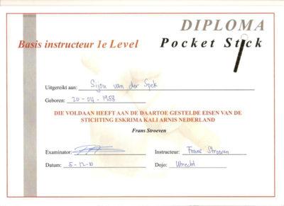 Basis instructeur Pocket Stick