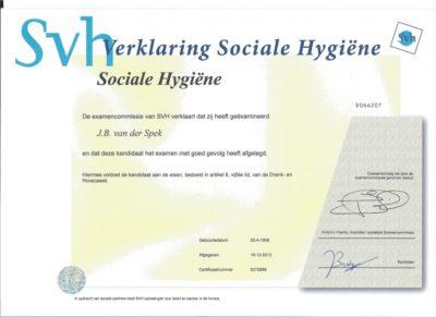 Verklaring Sociale Hygiene