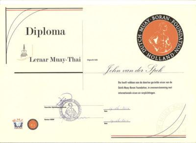 Leraar Muay Thai