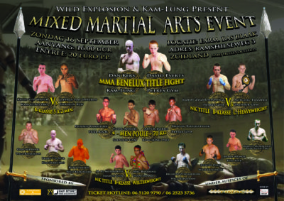 MMA EVENT - 16 september 2012