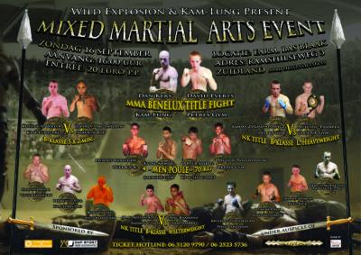 MMA EVENT - 16 september 2012