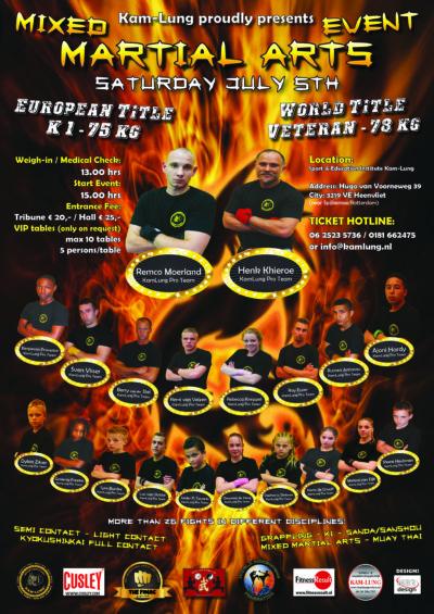 Martial Arts Event - 5 juli 2014