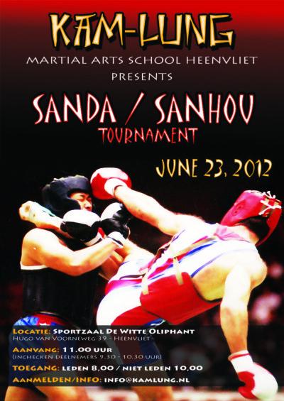 Sanda Tournament - juni 2012