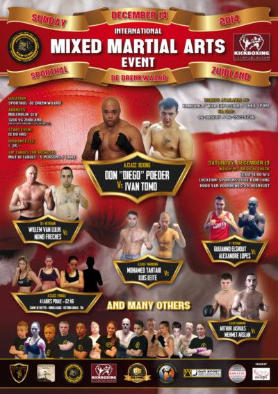 MMA EVENT - december 2014