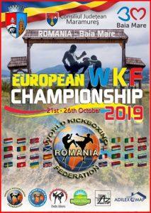 Europese Kampioenschappen WKF @ Sala Polivalentă Lascăr Pană