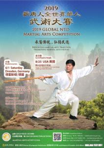 Internationale Kung Fu wedstrijden Dresden @ Margon Arena