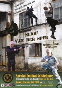 Seminar Special Combat Self Defence @ Sportinstituut Kam-Lung