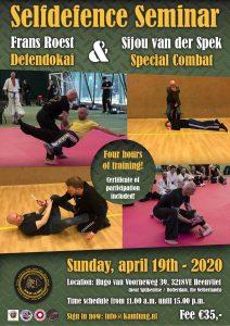 Self Defence Seminar Defendokai & Special Combat @ Sportinstituut Kam-Lung